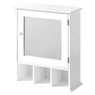 46cm X 58cm Surface Mount Mirror Cabinet By Symple Stuff