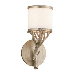 Pascal 1-Light Bath Sconce by Loon Peak