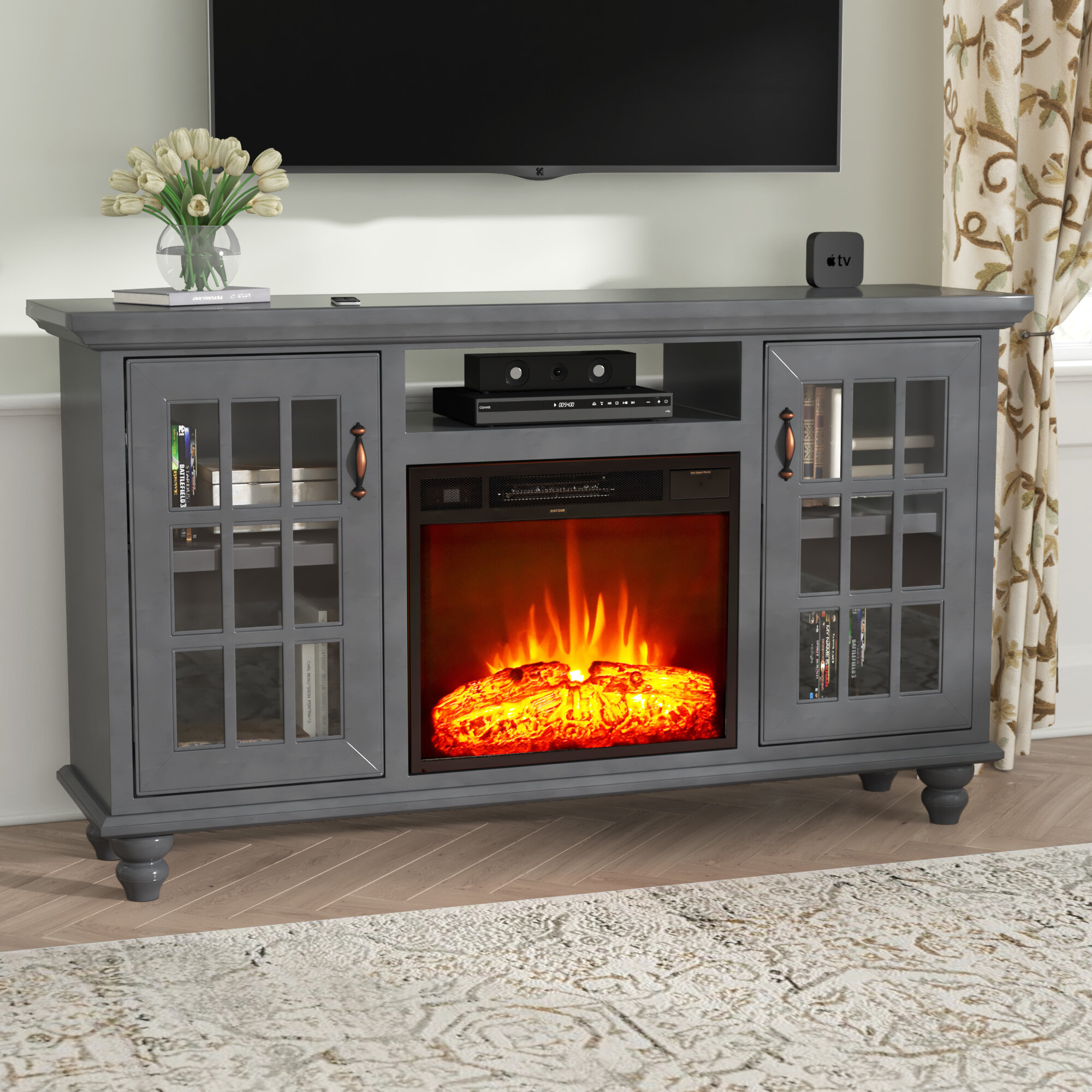 fireplace in bob brighton plug room electric black cabinet coffee media yz previous