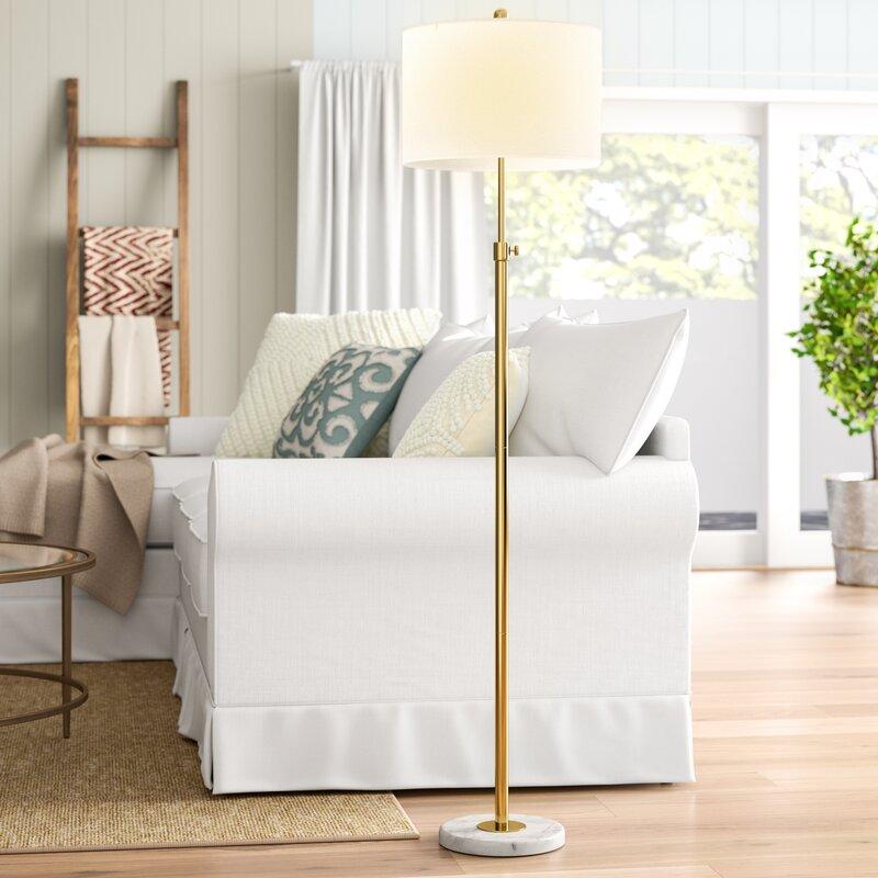 """Courtland Adjustable 65"""" Floor Lamp"""