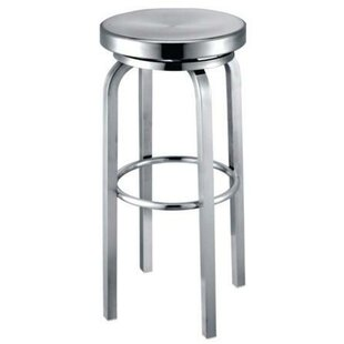 Lucah 26 Swivel Bar Stool Latitude Run