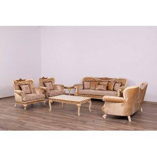 Astoria Grand Telford 2 Piece Coffee Table Set