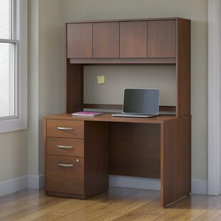 Bush Business Furniture Series C Elite 3 Piece Desk Office Suite