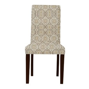 Beachwood Beige/Gray Parsons Chair (Set of 2) by Latitude Run