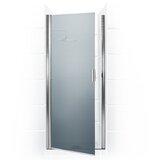 Paragon Series 26 x 65 Hinged Semi-Frameless Shower Door by Coastal Shower Doors