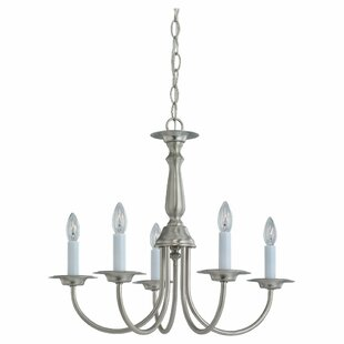 Darby Home Co Steubenville 5-Light Chandelier