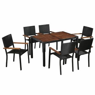 Barahona 6 Seater Dining Set By Sol 72 Outdoor