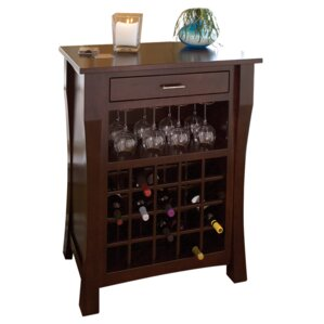 Newport 20 Bottle Floor Wine Rack by Conrad Grebel