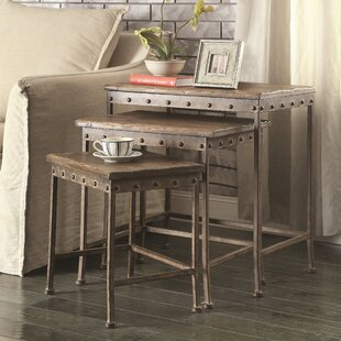 Sargent 3 Piece Nesting Tables by Trent Austin Design 2019 Sale