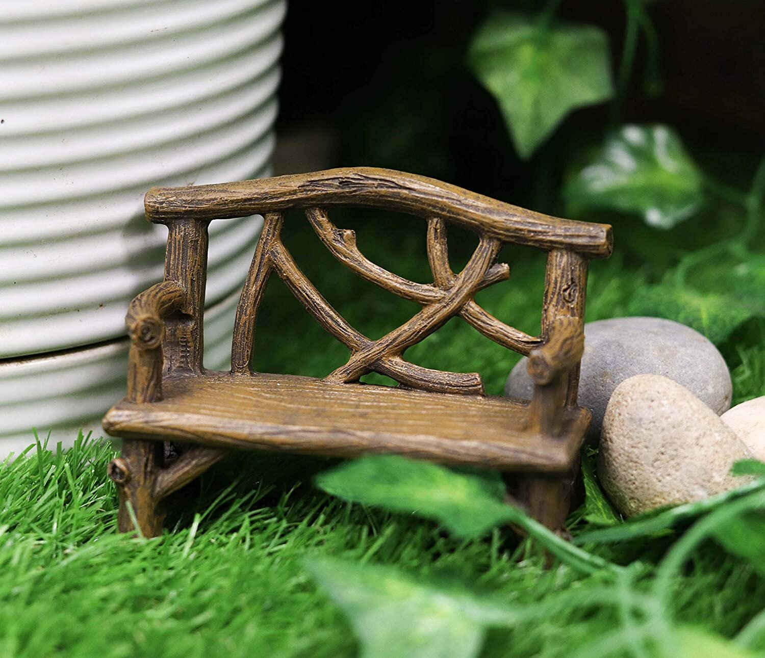 Loon Peak Enchanted Fairy Garden Terrarium Miniature Tree Twigs And Branch Love Bench Resin Sculpture 3 5 Inch Tall Do It Yourself Ideas For Your Home Decorative Nook Wayfair Ca