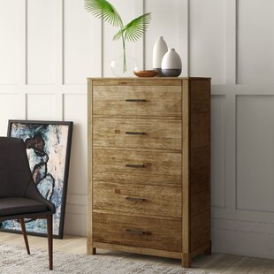 Seleukos 5 Drawer Chest by Mercury Row Modern