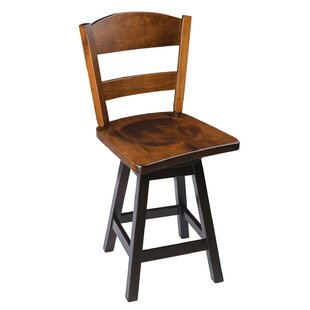 Albertville Swivel Bar  Counter Stool by Loon Peak