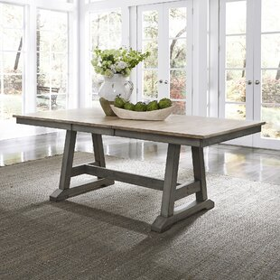 Kruger Solid Wood Extendable Dining Table