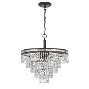 Markenfield 6-Light Crystal Chandelier