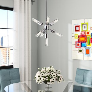 Orren Ellis Notting Burst 7-Light Chandelier