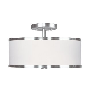 Cana Semi Flush Mount by Latitude Run