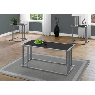 Bolyard 3 Piece Coffee Table Set by Williston Forge Spacial Price