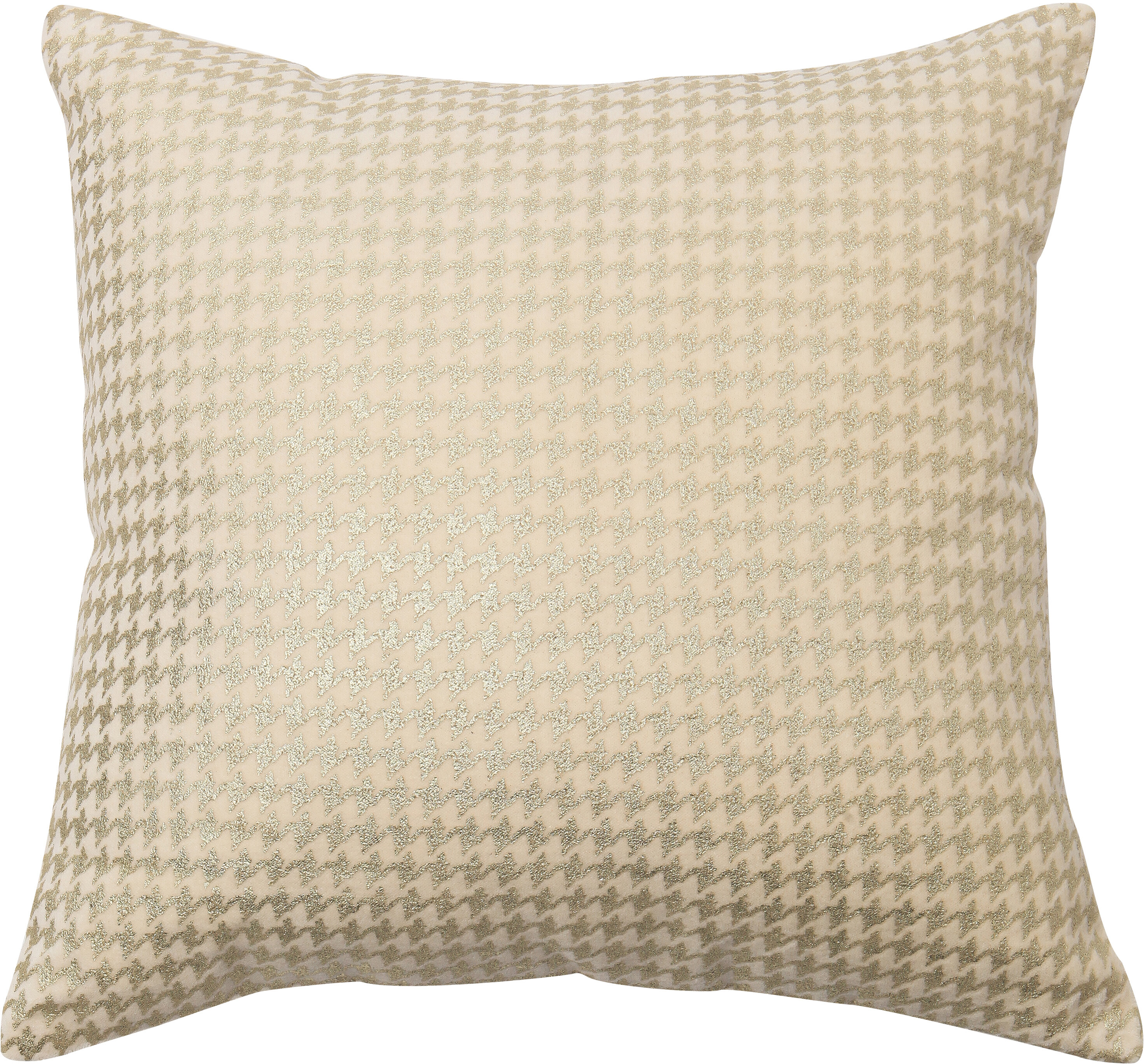 Best Home Fashion, Inc. Houndstooth Throw Pillow Cover | Wayfair