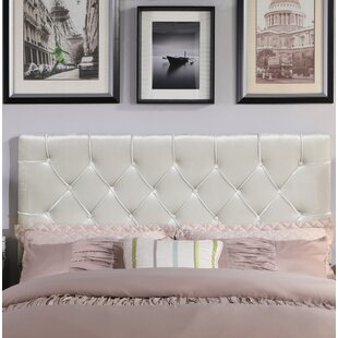 Heng Diamond Button Tufted Upholstered Panel Headboard