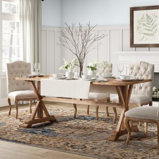 Glenbrook Solid Wood Dining Table Birch Lane™ Heritage