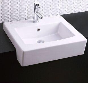 American Standard Universal Rectangular Drop-In Bathroom Sink with Overflow