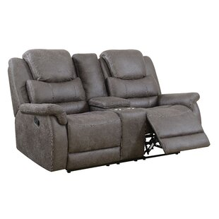 Chamberland Reclining Loveseat by Red Bar..