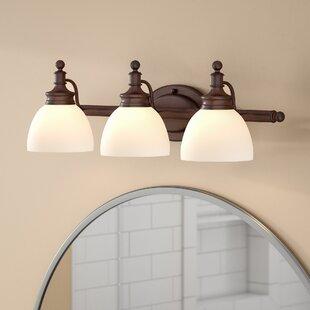 Reviews Stokley 3-Light Vanity Light ByCharlton Home