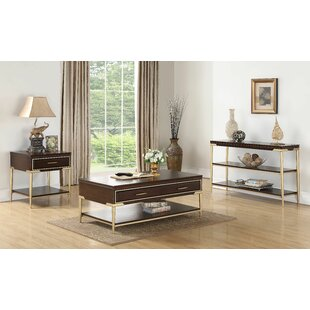 Everly Quinn Laufer 3 Piece Coffee Table Set