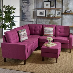 Find for Vanhorn Modular Sectional with Ottoman By Ebern Designs