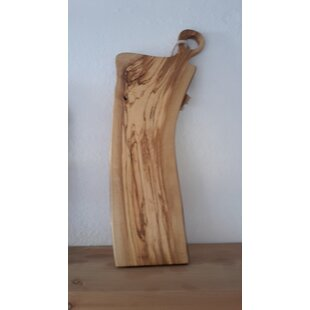 Plank Olive Wood Cutting Board