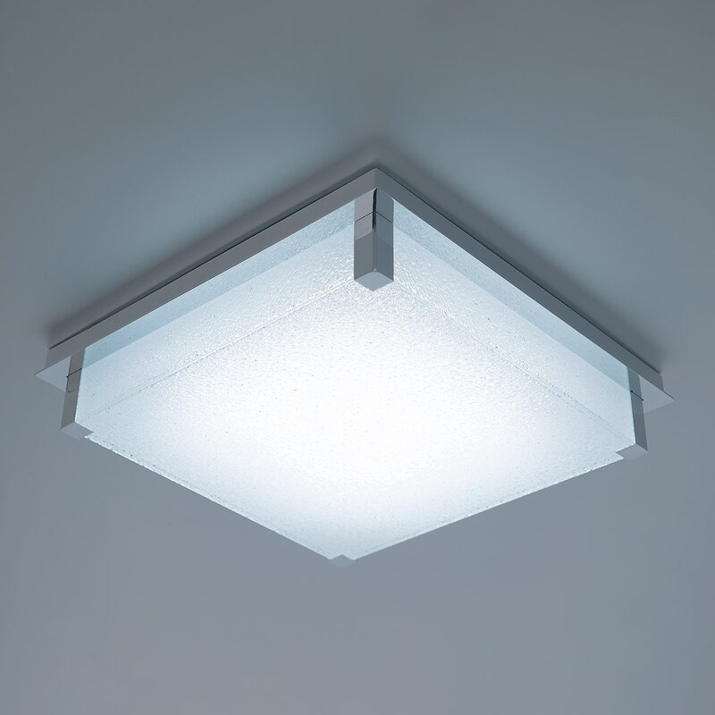 Simple Square Led Flush Mount