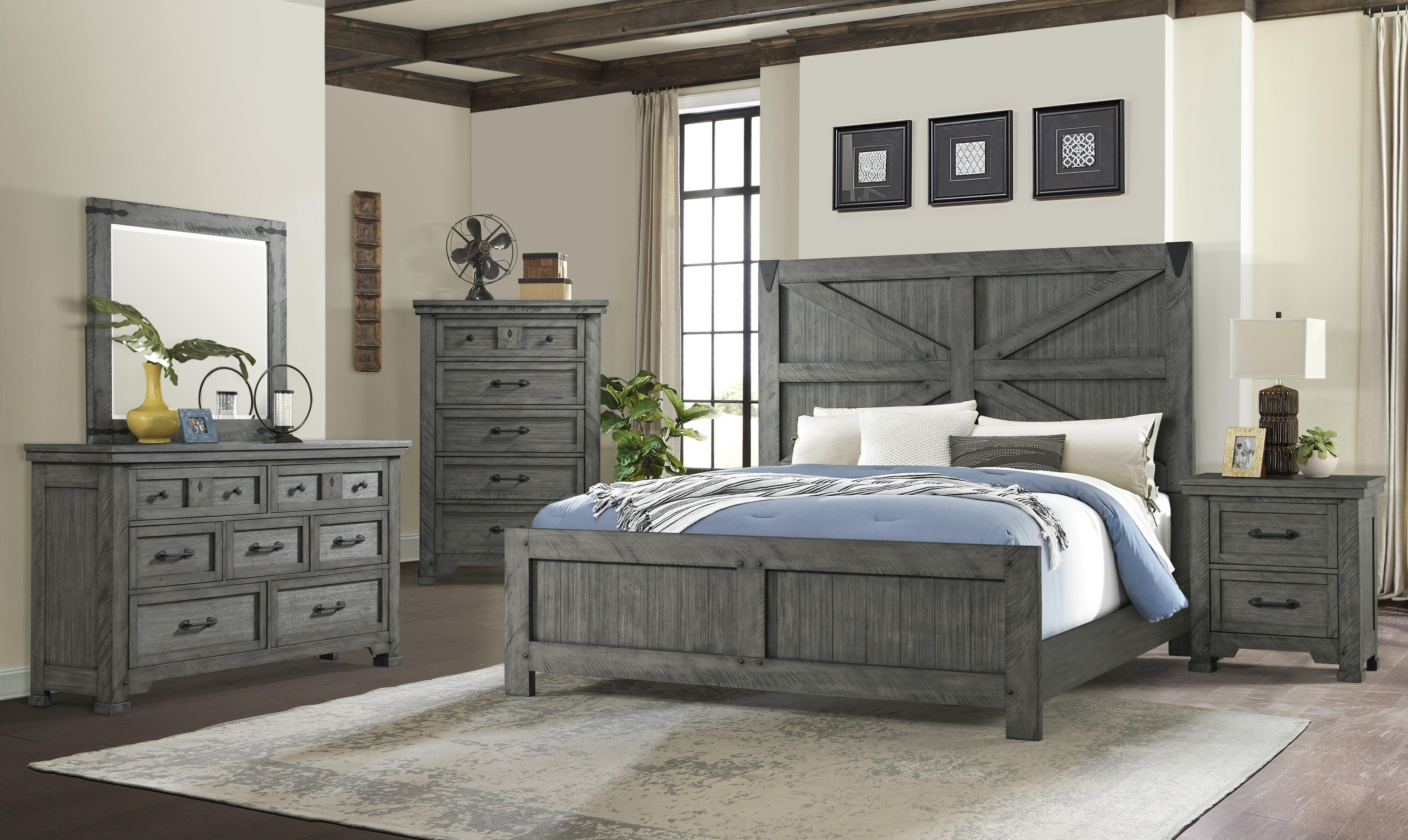 Gracie Oaks Tandy Standard Configurable Bedroom Set Reviews