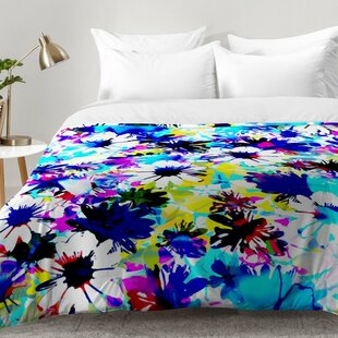 East Urban Home Floral Comforter Set