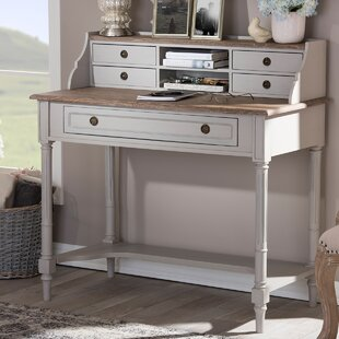 Westrick Solid Wood Writing Desk by Ophelia & Co.
