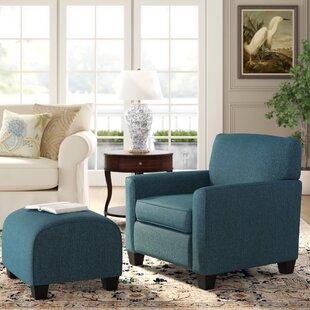 Phenomenal Armchair And Ottoman Ibusinesslaw Wood Chair Design Ideas Ibusinesslaworg