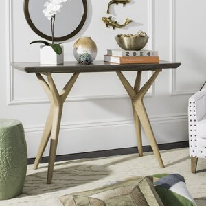 Stein Concrete Console Table by Union Rustic
