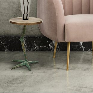 Eleuthera Pavo End Table by Bay Isle Home