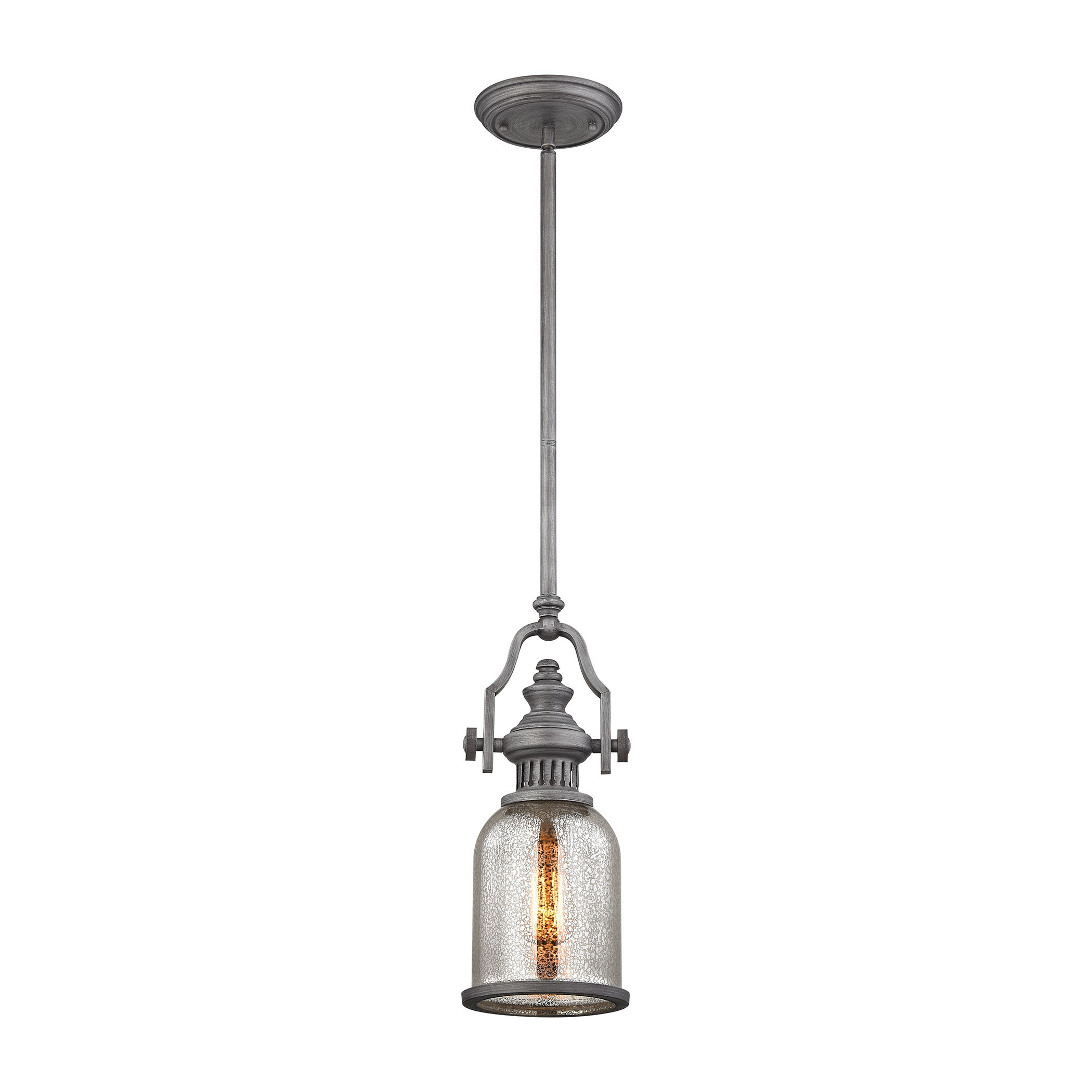 Three Posts Lyanna 1 Light Single Bell Pendant Wayfair