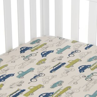 Bullins Fitted Crib Sheet ByZoomie Kids