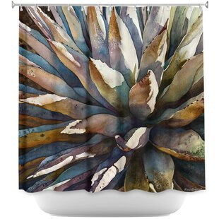 Sunstruck Yucca Plant Single Shower Curtain