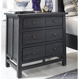 Aaliyah 3 Drawer Nightstand by Gracie Oaks