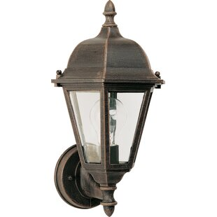 Compare & Buy Listermann 1-Light Outdoor Sconce By Alcott Hill