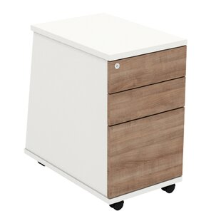 Review Derryberry 3-Drawer Lockable Filing Cabinet