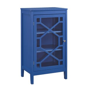 Zauber Small 1 Door Accent Cabinet by Charlton Home