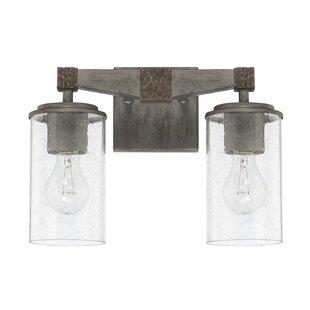 Hitton 2-Light Vanity Light By Williston Forge