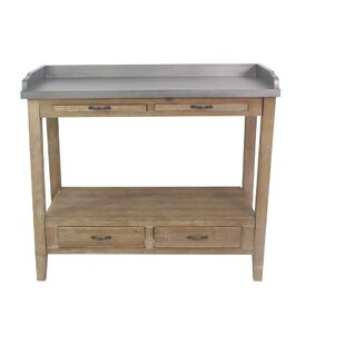 Elvis Kitchen Prep Station Bar Cart by August Grove