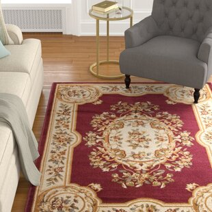 Find for Lukeson Beige/Red Area Rug by Astoria Grand