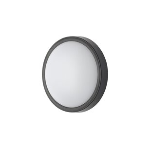Lucille Circular LED Outdoor Bulkhead Light By Sol 72 Outdoor
