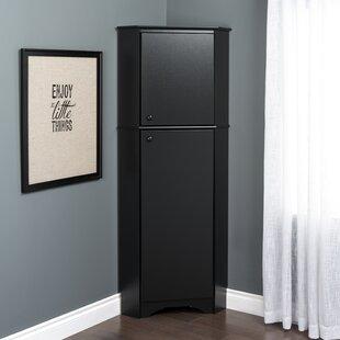 Tall Corner Cabinet With Doors Wayfairca