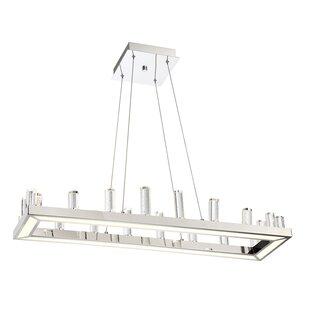 Orren Ellis Kitts 1-Light LED Kitchen Island Pendant